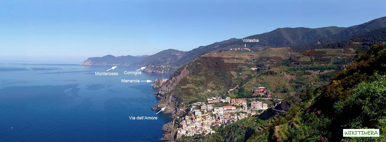 Paesaggio di Riomaggiore