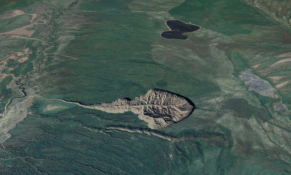 Cratere di Batagaika, Yakuzia (Siberia), Russia (EX) Estera
