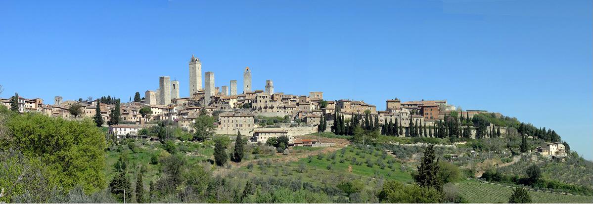 San Gimignano, Val d'Elsa (SI) Toscana