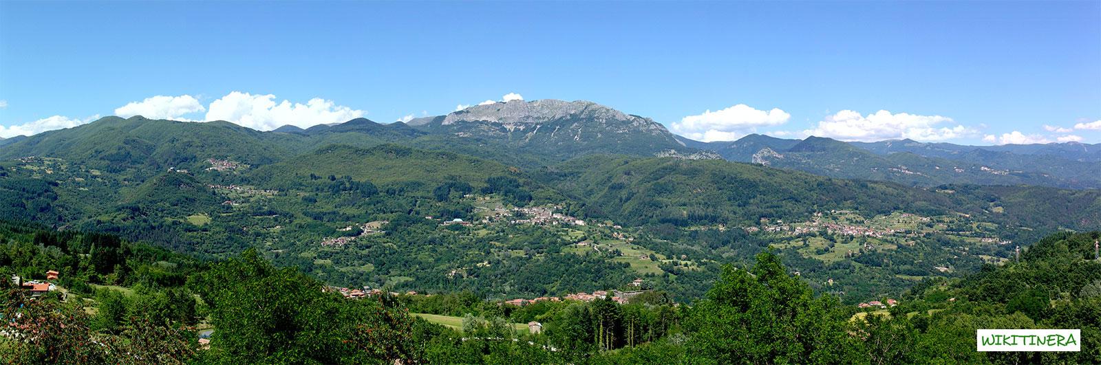 Paesaggio da Vitoio